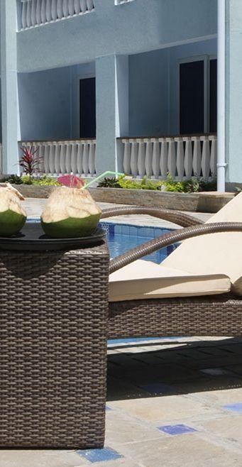 Unique courtyard pool