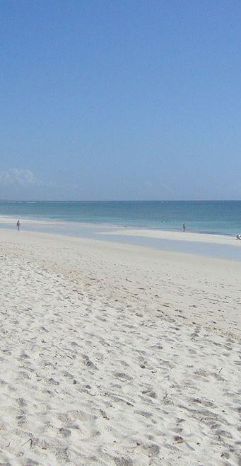 Endless white beaches